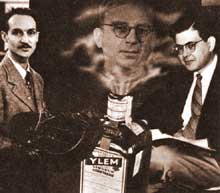 Alpher, Herman and Gamow - and the famous Cointreau bottle